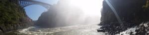 waterfall, victoria falls in zambia